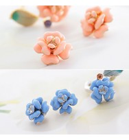 Everlasting Flower Earring